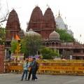 Vor dem Red Fort in Delhi